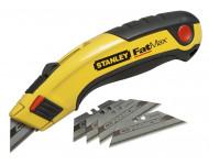 Cutter à lames rétractible STANLEY Fatmax + 5 lames Carbides - 7-10-778