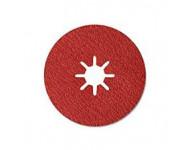 Disque abrasif fibre souple 4570 Siabite X SIA Alesage étoile Ø125x22 GR.36 - 1935.3923.0036.01