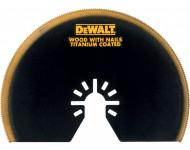 Lame titanium semi-circulaire Ø100 mm pour Multicutter DEWALT - DT20709