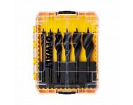 Coffret de 6 mèches à bois DEWALT - 3 pointes eXtreme - Ø 13 à 32 mm - DT90238-QZ