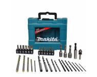 Coffret 34 accessoires perçage-vissage Maccess MAKITA - D-36980