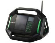 Radio de chantier HITACHI - HIKOKI 14.4V à 18V - Sans batterie, ni chargeur - UR18DSALW4