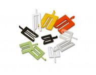 Cale de pose fourchette lrg.36mm l.40mm – Panachés de 1 à 5 mm