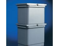 Seau pour poubelle 5160 Gris 17L LMC - BAC5160