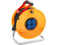 Enrouleur standard pro BRENNENSTUHL - 40 m - 3G2.5 - 1233121