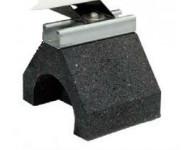 Kit 4 pieds auto-stables pour pompe à chaleur + rondelles + écrous AQUALUX - 105463