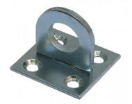 Piton sur platine TORBEL 30 x 30 – Zingué trou 12,5 mm – 526548