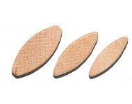02144010 Lamelle bois, épaisseur 4 mm - N°10 - Boîte de 1000