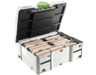 Assortiment de Domino XL FESTOOL en Hêtre - 128 pièces - DS/XL D.12 / D.14 - 498205