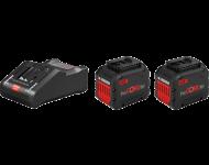 Kit 18V Procore BOSCH - 2 x batteries 18V 12.0Ah + chargeur GAL 1880 CV Pro - 1600A016GY