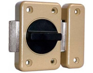 Verrou à bouton RXP 2104 VACHETTE - Ø 20 - C.40 mm - 16401000