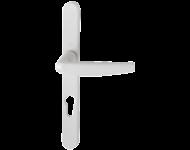 Ensemble de porte-fenêtre plaque étroite Atlanta 1530/300LMSGL HOPPE Blanc crème 9001 Entr.70 C.7 - ép.68/77 - 3305150