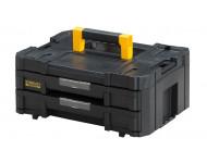 Mallette 2 tiroirs Tstak-Fatmax Stanley 8l - 44 x 33,17 x 17,6 cm - fmst1-71969
