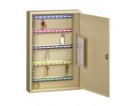 Armoire à clés DECAYEUX pour 100 clés - Beige - 486110