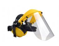 Visière polycarbonate avec protège oreilles OREGON - Q515062