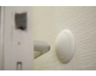 Butoir de béquille adhésif Elior élastomère blanc CIVIC INDUSTRIE - Ø60 x Ht.15 mm - 88902790