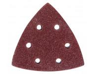 Papier abrasif grain MILWAUKEE - Pack 8 pièces - 48902