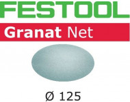 Abrasif maillé FESTOOL STF Ø125 mm - Granat Net