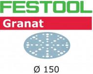 Abrasif pour ponçeuse FESTOOL Granat - Ø 150 mm