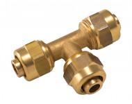 Té égal à compression pour tube PER NOYON & THIEBAULT - P12-50012L1