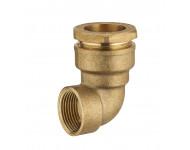 Coude laiton pour tuyau polyéthylène NOYON & THIEBAULT - 1723