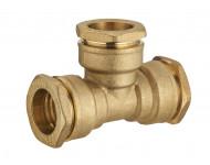 Té laiton égal pour tuyau polyéthylène NOYON & THIEBAULT - 1731
