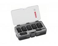 Set de 5 douilles BOSCH Impact Control + 2 adaptateurs - 2608551029