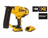 Cloueur de finition 18 GA XR 18V 2Ah Li-Ion BL + Pointes 18GA 1.2 x 30 mm DEWALT - DCN6805BOITES