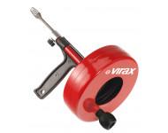 Déboucheur manuel à tambour VIRAX pour canalisation Ø25-50 mm - 290600