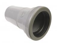Manchette de réparation NICOLL femelle - PVC gris - Ø 100 mm - MTH227