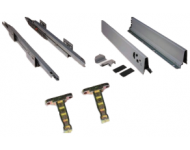Kit complet coté tiroir Vantage EMUCA  - 270 mm - 4195825