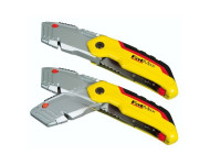 Couteau lame trapèze rétractable FATMAX ouverture 1 main - 0-10-825