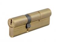 Cylindre HG6 35x55 THIRARD - Laiton sur passe PTT et EDF - 3 clés - PU063555