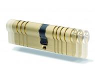 Cylindre européen nickelé entrouvrant Série C IFAM - 30/30 - 3 clefs - 14402
