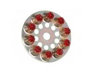 Disques charge à poudre 6.3/10 forte rouge SPIT - 100 pièces - 011658