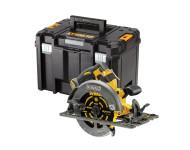 Scie circulaire 2.0 XR FLEXVOLT 54V 2Ah Li-Ion Brushless compatible rail de guidage DEWALT - 190mm - sans batterie ni chargeur - coffret TSTAK - DCS579NT-XJ