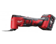 Outil multifonctions MILWAUKEE M18 BMT-421C 18V Li-Ion + 1 batteries 4.0Ah, 1 batterie 2.0Ah, en coffret  - 4933446210