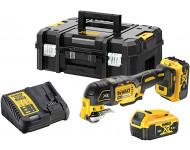 Multi cutter 18V 5.0Ah Li-Ion + 29 accessoires en coffret Tstak - DCS356P2-QW