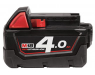 Batterie MILWAUKEE 18V 4Ah Red Li-Ion M18 B4 - 4932430063