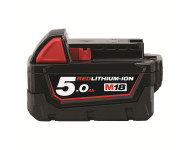 Batterie MILWAUKEE M18 B5 18V 5.0Ah RED Li-Ion Système M18 - 4932430483