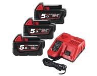 Pack NRJ 18V 5.0Ah Red Li-Ion M18NRG503 - 4933451423