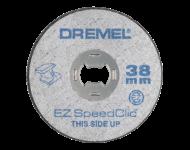 LOT de 5 Disques A Tronçonner EZ SpeedClic Ø38 MM Epaisseur 1,2 MM DREMEL - 2615 S456 JC