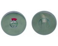 Paire de rosace Inox 304 Balsac / Vabre / Vallon / Valady  - WC avec voyant - U19/L19/V19 - 175