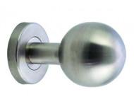 Bouton de tirage Inox 304 non-traversant boule Ø72 mm - 450