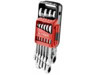 Jeu de 10 clés mixtes à cliquet Pocket FACOM en étui - 467BF.JP10