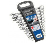 Jeu de 12 clés mixtes EXPERT by Facom sur rack - E110309