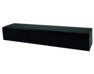 Ferme-porte TS92 B sans bras DORMA - Noir - force 2 à 4 - côté paumelles - 42020119