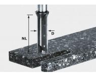 Fraise à profiler avec plaquettes de rechange HW queue de 12mm FESTOOL HW S12 D14/45 WM - 491110
