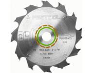 Lame de scie circulaire FESTOOL Panther 160x2,2x20 PW12 - 496301