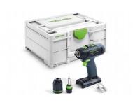 Perceuse visseuse sans fil T 18+3-Basic FESTOOL - Sans batterie ni chargeur - 576448